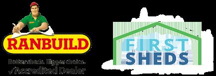 First Sheds Logo